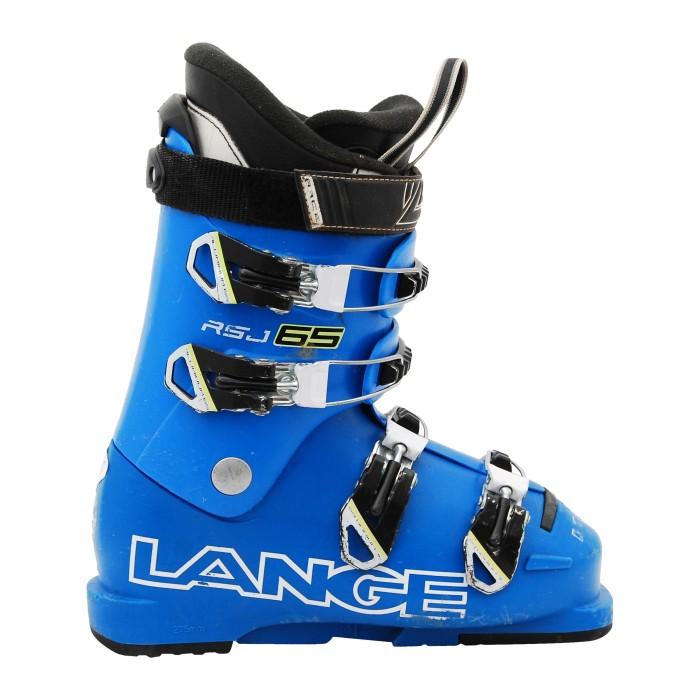 Chaussure de Ski Occasion Junior Lange RSJ 65 bleu