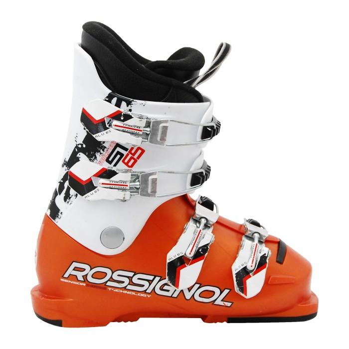 Junior used ski boot Rossignol Radical WC SI65/70 white/orange