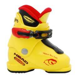 Chaussure de ski Junior Occasion Head Carve X jaune