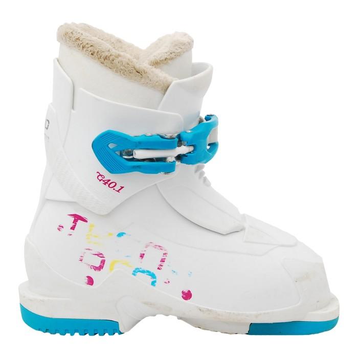 Junior used ski boot Tecno pro T40 white
