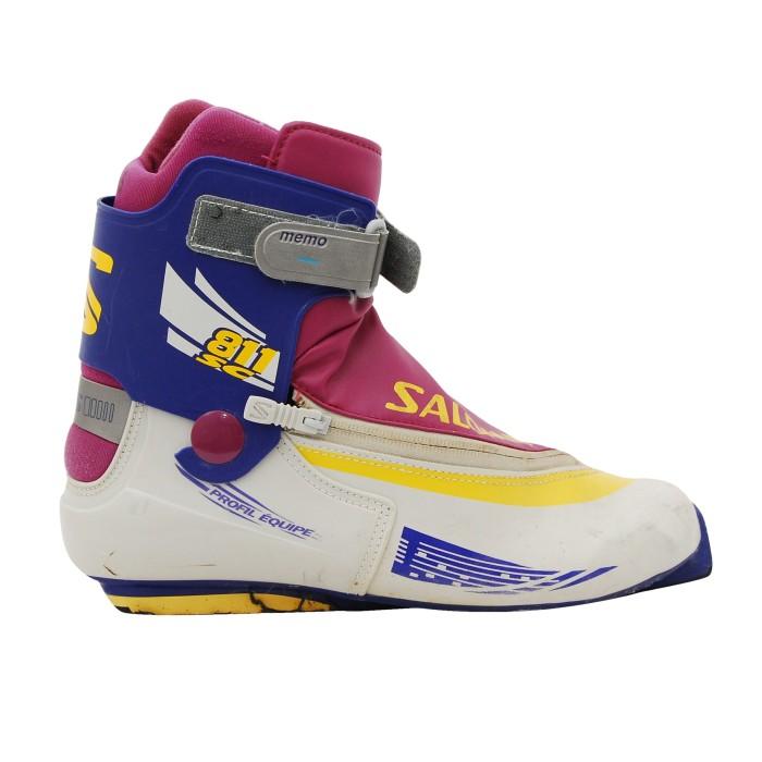 Chaussure fond occasion Skating SALOMON 811 SC gris violet