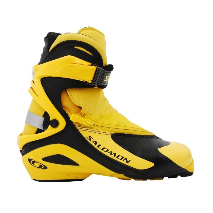Chaussure ski fond occasion Salomon RS 9 jaune