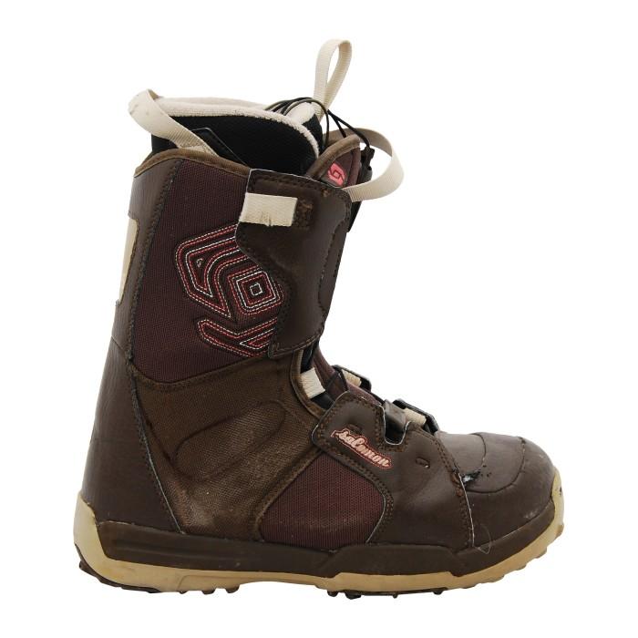 Boots used Salomon kamooks chestnut patch