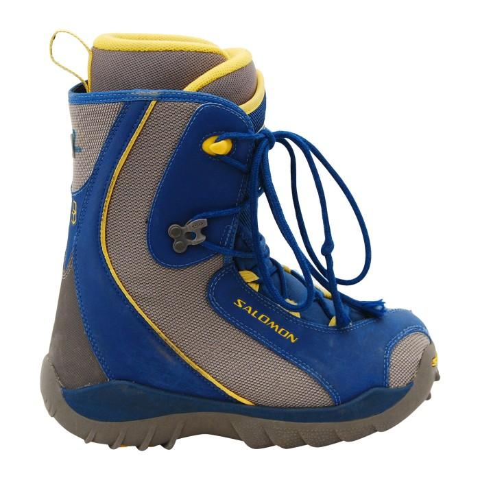 Salomon Talapus Junior blau / gelb Junior Stiefel