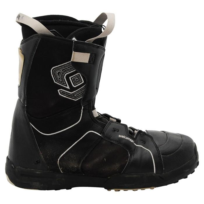 Boots occasion Salomon kamooks logo noir