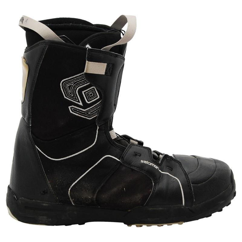 Boots occasion Salomon kamooks ecusson noir qualité A