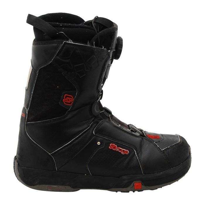 Boots used Salomon model Savage