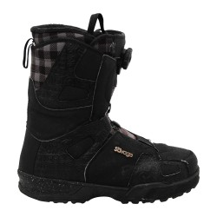 Boots occasion Salomon Savage carreaux