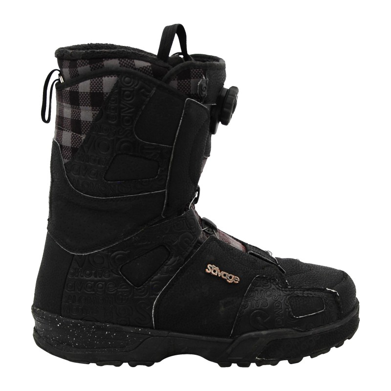 Boots occasion Salomon Savage carreaux qualité A