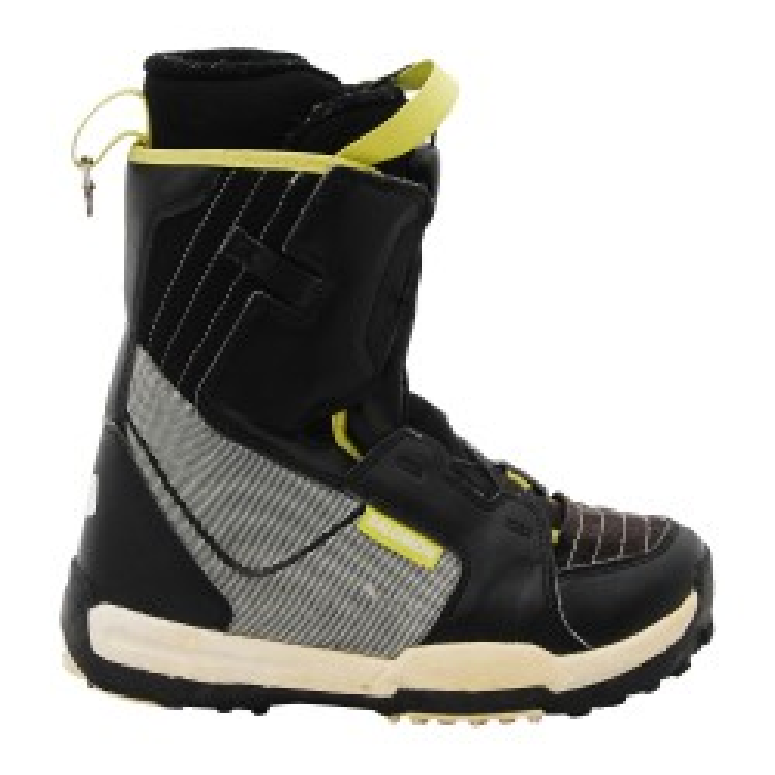 Boots occasion junior Salomon Talapus noir/gris/jaune