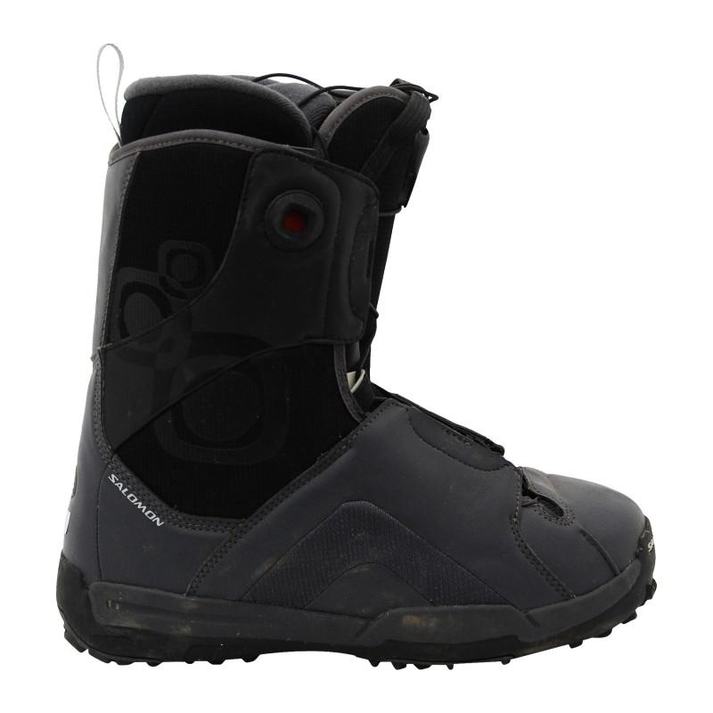 Boots occasion Salomon kamooks ecusson noir