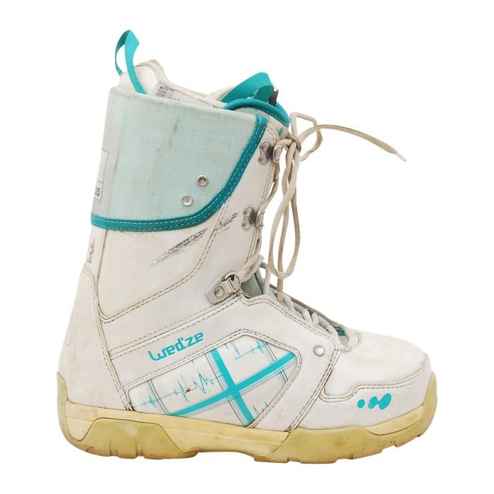 Boots occasion Wed'ze FR6 w blanc bleu