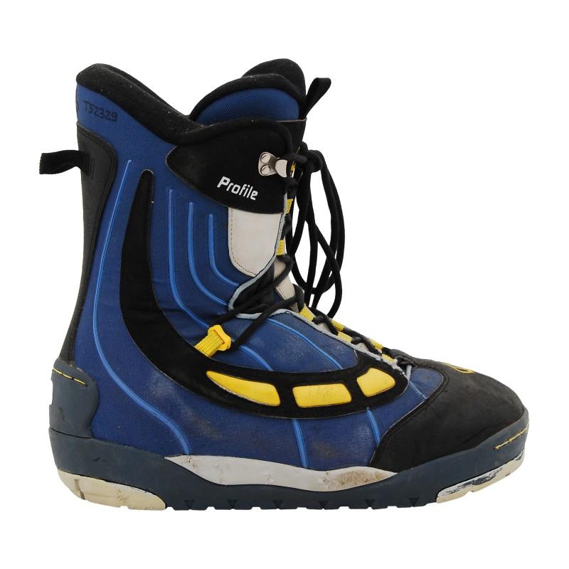 Boots occasion Flow Profile bleu qualité A