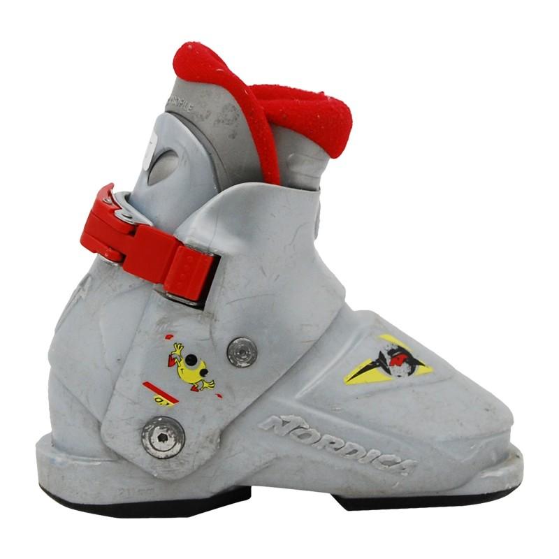 Chaussure de Ski Occasion Junior Nordica super 0,1 gris qualité A