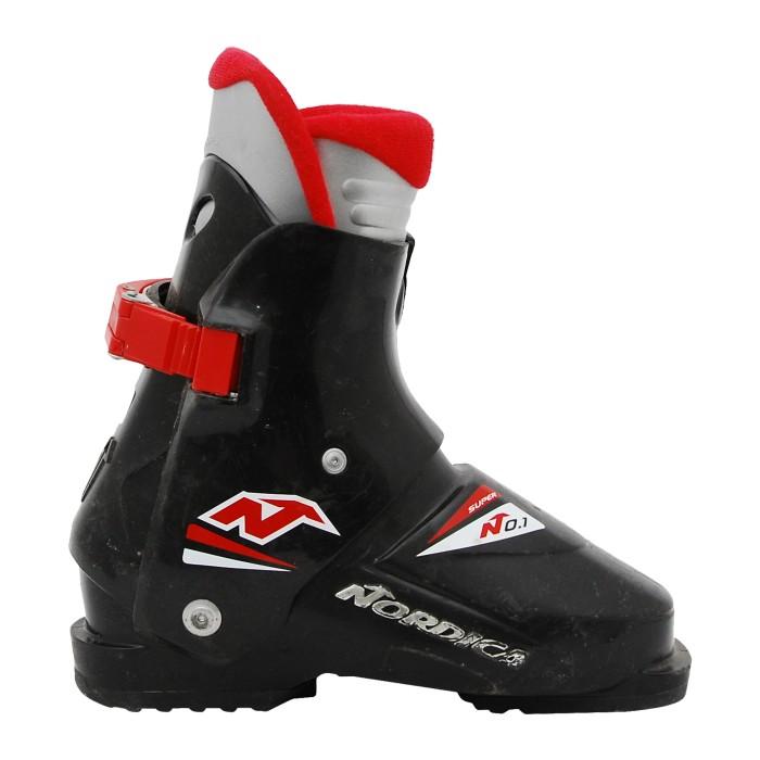 Junior Nordica Super 0.1 Black Ski Boot