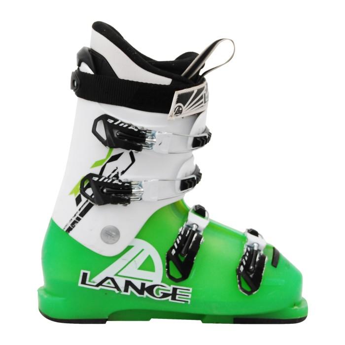 Chaussure de Ski Occasion Junior Lange RX J vert blanc
