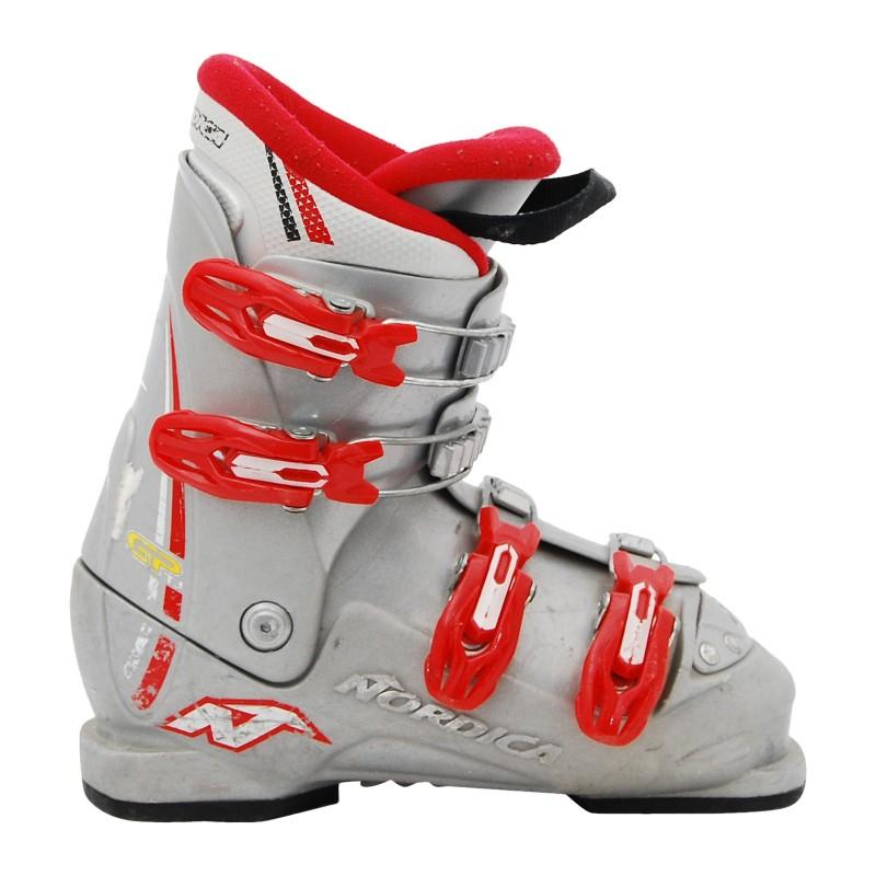 Chaussure de Ski Occasion Junior Nordica GP gris qualité A