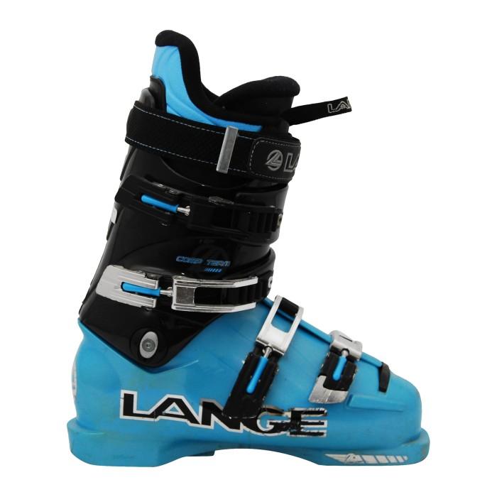 Chaussure de ski occasion junior Lange Comp Team noir bleu
