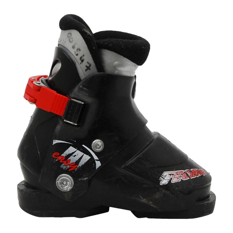 Chaussure de ski occasion junior Tecnica easy noir