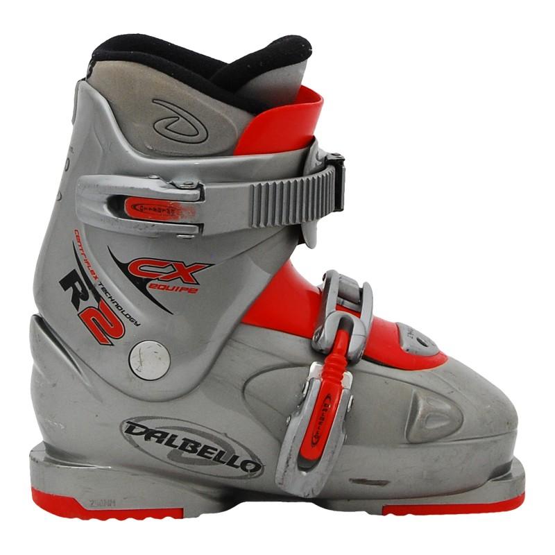 Chaussure de ski occasion Dalbello junior cx 2grise