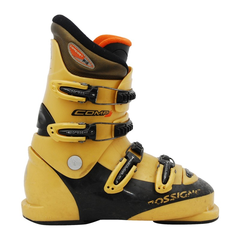 Chaussure de ski occasion junior Rossignol Comp J or