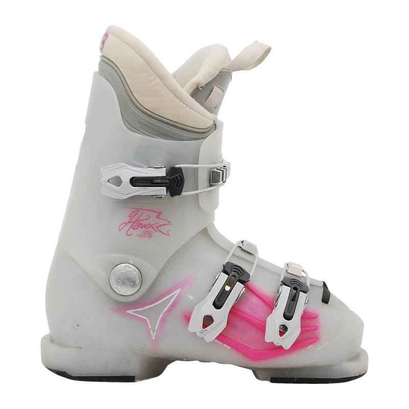 Chaussure de Ski Occasion Junior Atomic hawx JR translucide/rose