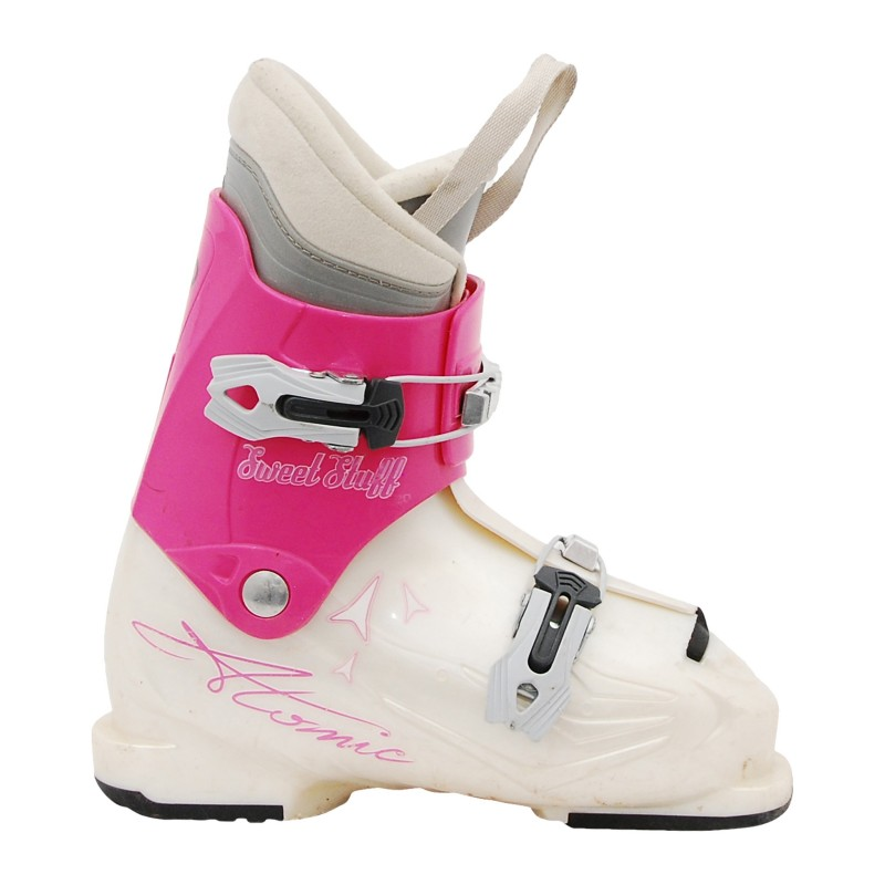 Chaussure de Ski Occasion Junior Atomic Sweet Stuf rose/blanc