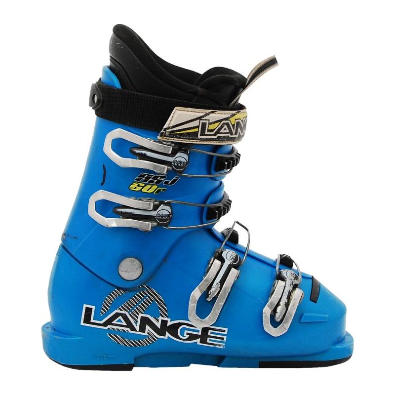 Chaussure de Ski Occasion Junior Lange RSJ 60R bleu qualité A