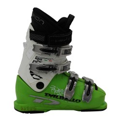 Chaussure de ski occasion junior Dalbello Scorpion 70 blanc/vert