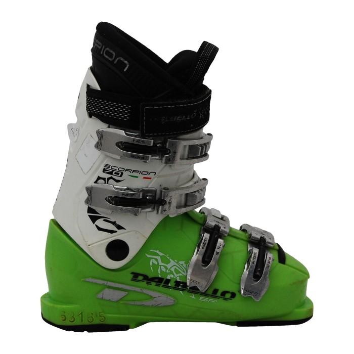 Junior Dalbello Scorpion 70 Skischuh weiß / grün