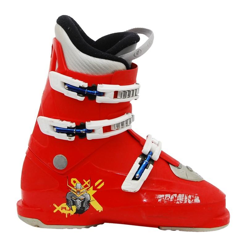 Chaussure de ski Junior Occasion Tecnica RJ Rouge qualité A