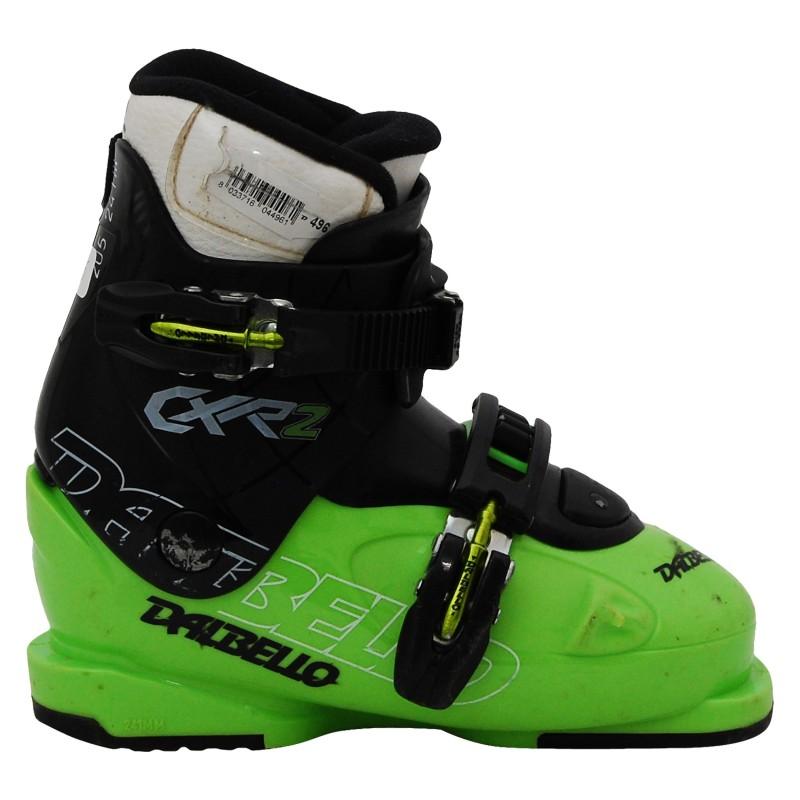 Chaussure de ski occasion junior Dalbello CX R noir/vert qualité A