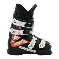 Chaussure de ski Junior Occasion Tecnica JT R noir orange