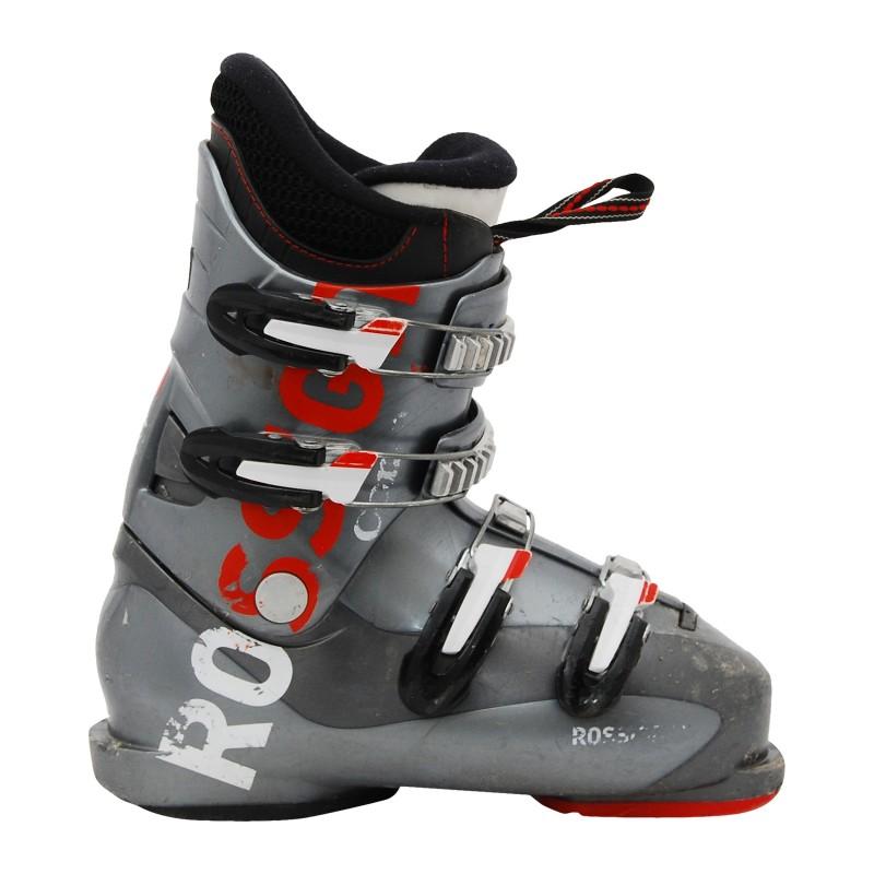Chaussure de ski occasion junior Rossignol Comp J gris
