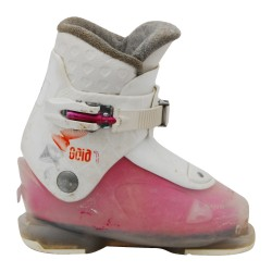 Chaussure de ski occasion Dalbello junior gaia blanc rose