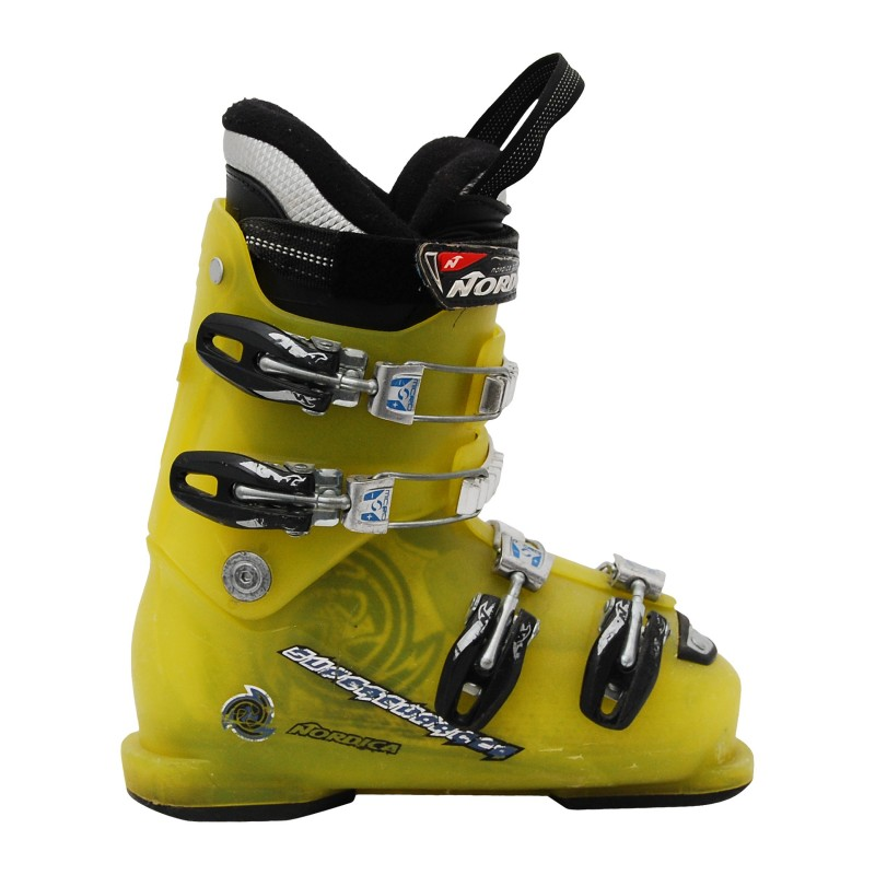 Chaussure de Ski Occasion Junior Nordica Supercharger vert