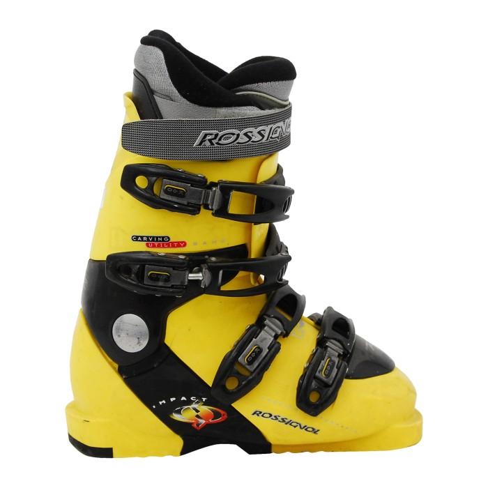 Chaussure de ski Occasion Rossignol Impact X jaune