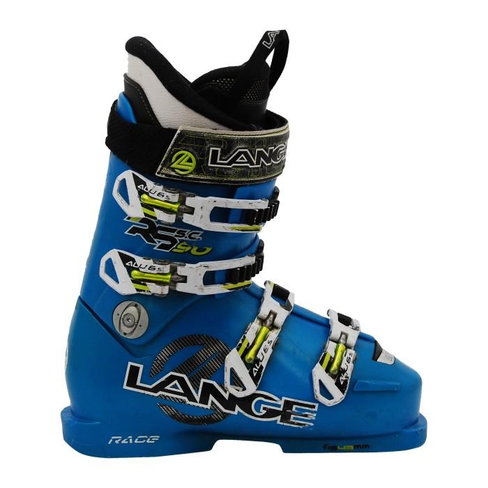 Chaussure de Ski Occasion Junior Lange RS 90 SC bleu