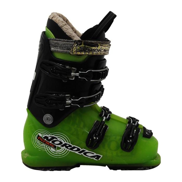 Opportunità di sci Junior Nordica Patron Team Verde/Nero Scarpa da sci