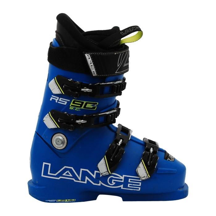 Skischuh Junior Lange RS 90 SC blau/gelb