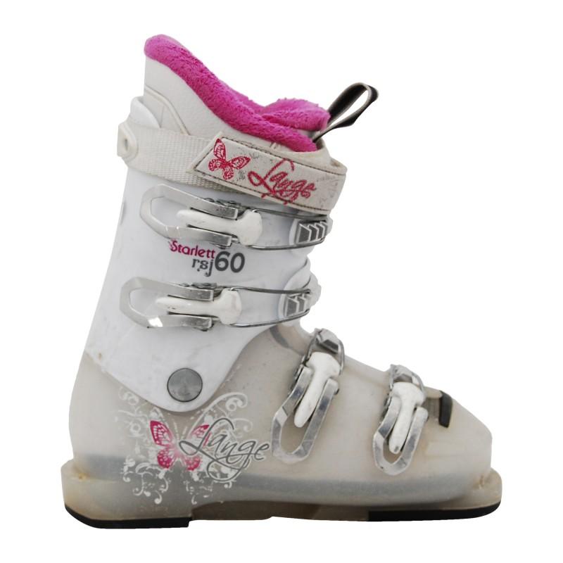 Chaussure de Ski Occasion Junior Lange Stralett RS J 50R ROSE qualité A