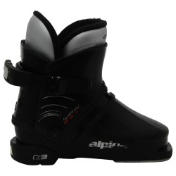 Chaussure de ski junior occasion Alpina speedy noir