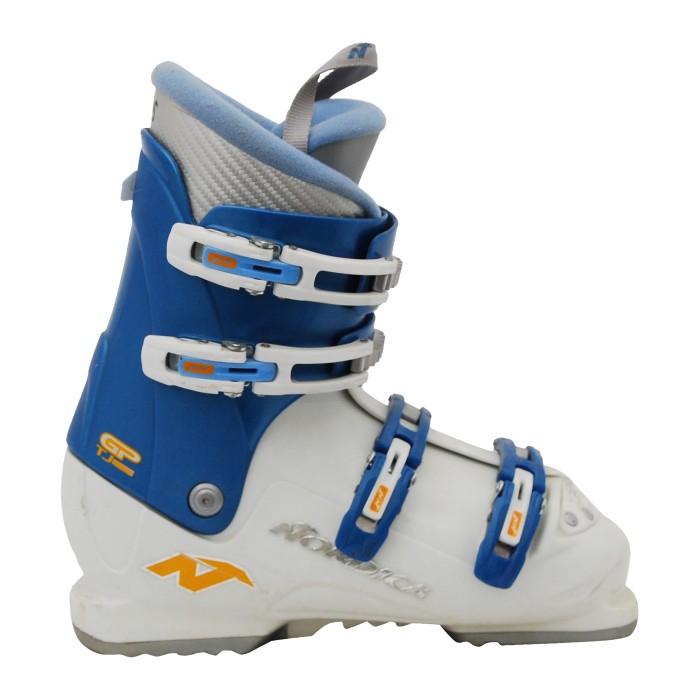 Chaussure de Ski Occasion Junior Nordica GP TJ super bleu blanc