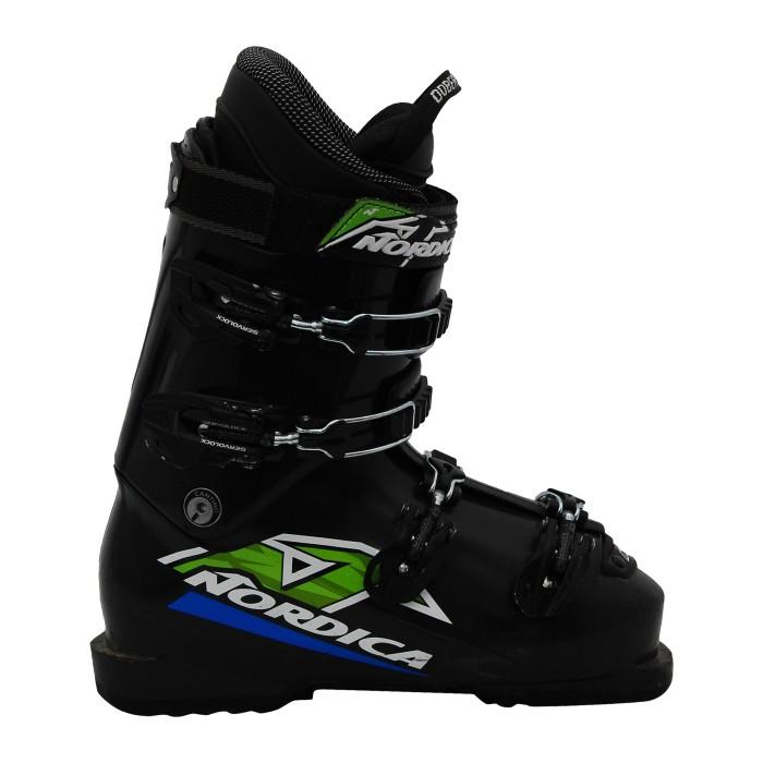 Chaussure de Ski Occasion Junior Nordica Dobermann team 75 noir bleu vert