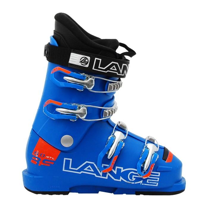 Ski Shoe Occasion Junior Lange RSJ 60 RTLbleu/orange