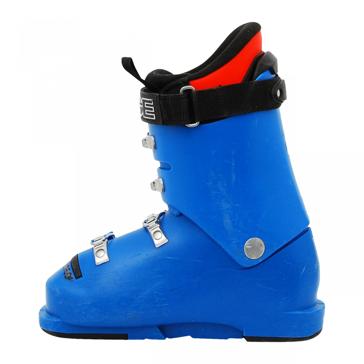 Chaussure-de-Ski-Occasion-Junior-Lange-RSJ-65-bleu-orange miniature 4