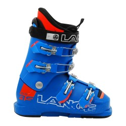 Chaussure de Ski Occasion Junior Lange RSJ 65 bleu/orange