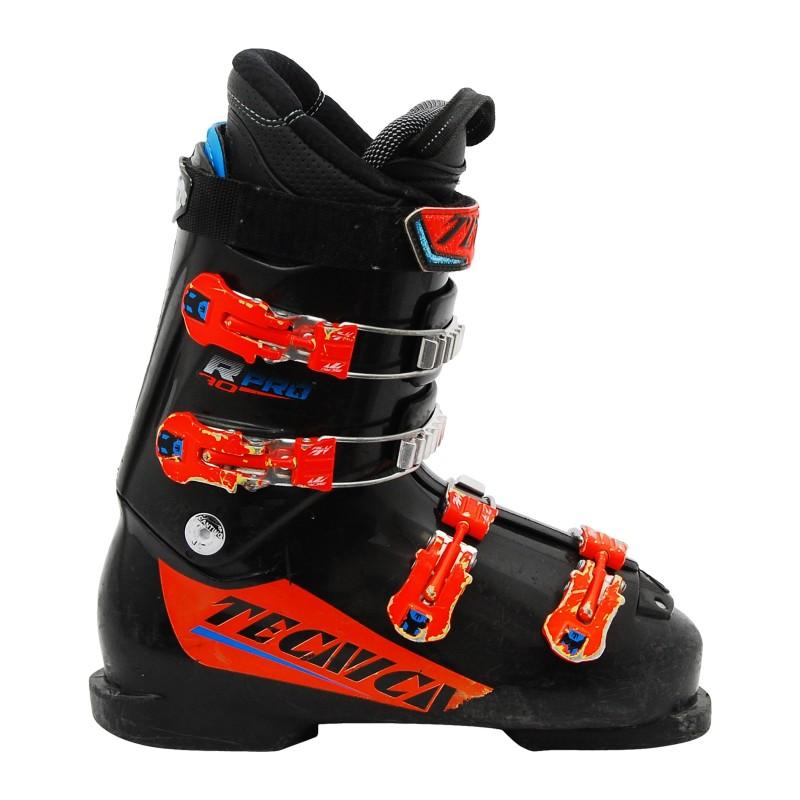 Chaussure de ski Junior Occasion Tecnica R PRO 60/70 noir orange qualité A