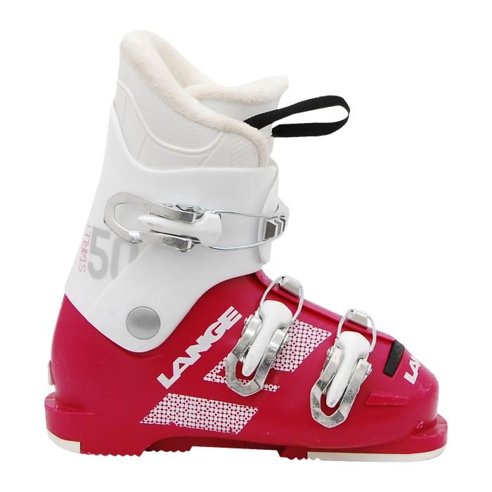 Chaussure de Ski Occasion Junior Lange Starlet 50 blanc violet