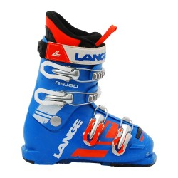 Chaussure de Ski Occasion Junior Lange RSJ 60R bleu/orange/blanc